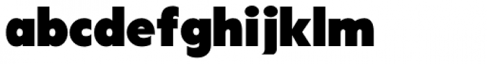 Tondu Font LOWERCASE