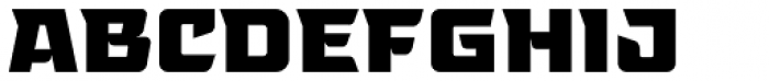 Tongyin Black Font UPPERCASE