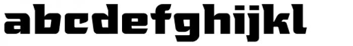 Tongyin Black Font LOWERCASE