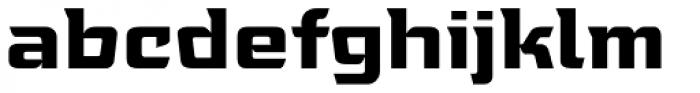 Tongyin Bold Font LOWERCASE