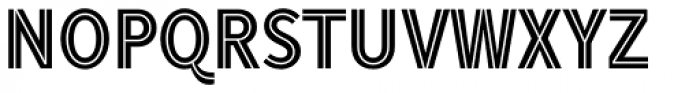 Tool Tooled Font UPPERCASE