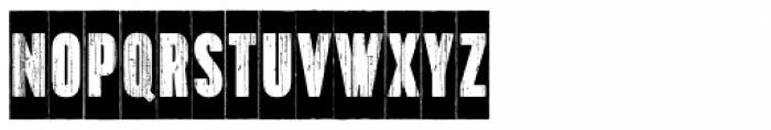 Toppo Negative Font LOWERCASE