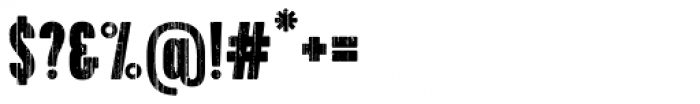 Toppo Regular Font OTHER CHARS