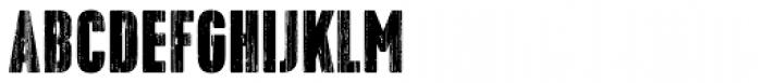 Toppo Regular Font UPPERCASE