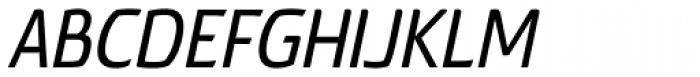 Torcao Cond Demi Italic Font UPPERCASE