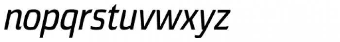 Torcao Cond Demi Italic Font LOWERCASE