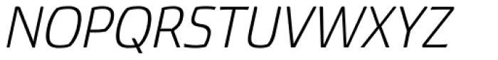 Torcao Ext Book Italic Font UPPERCASE