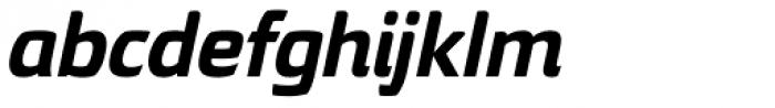 Torcao Ext ExtraBold Italic Font LOWERCASE