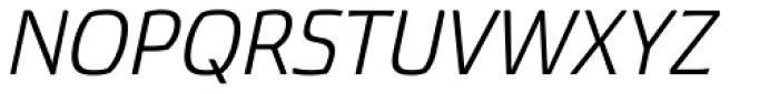 Torcao Ext Italic Font UPPERCASE