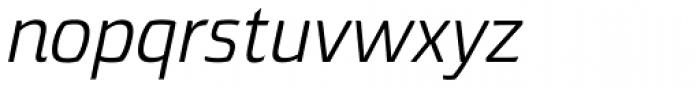 Torcao Ext Italic Font LOWERCASE