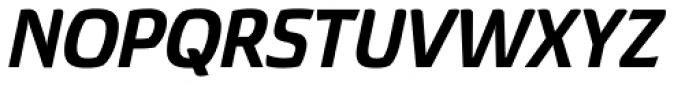 Torcao Normal ExtraBold Italic Font UPPERCASE