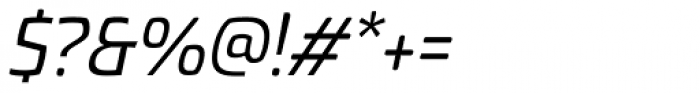 Torcao Normal Medium Italic Font OTHER CHARS