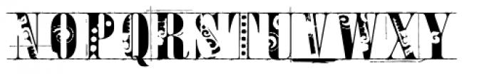 Toreador Font UPPERCASE