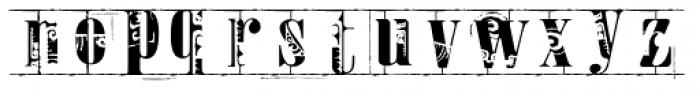 Toreador Font LOWERCASE
