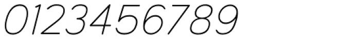 Toriga Light Italic Font OTHER CHARS