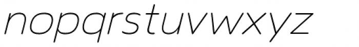 Toriga Light Italic Font LOWERCASE