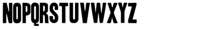 Toronto Gothic Font UPPERCASE