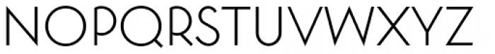 Toronto Subway Light Font UPPERCASE
