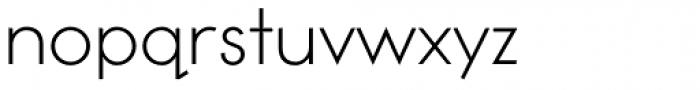 Toronto Subway Light Font LOWERCASE