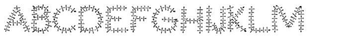 Torture Regular Font UPPERCASE