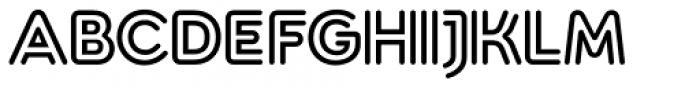 Torus Biline Heavy Font UPPERCASE