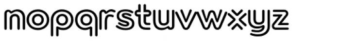 Torus Biline Heavy Font LOWERCASE