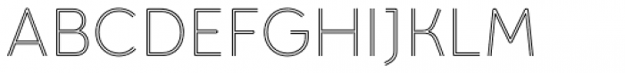 Torus Biline Light Font UPPERCASE