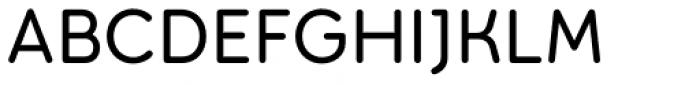 Torus Regular Font UPPERCASE
