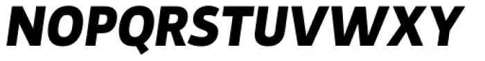 Tosia Bold Italic Font UPPERCASE