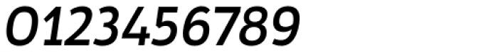 Tosia Medium Italic Font OTHER CHARS