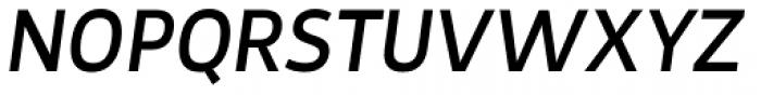 Tosia Medium Italic Font UPPERCASE