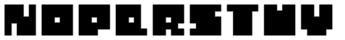 Total Eclipse Font UPPERCASE
