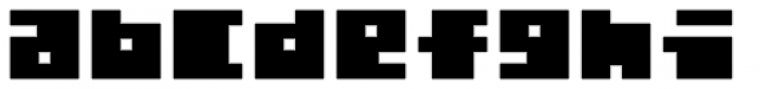 Total Eclipse Font LOWERCASE