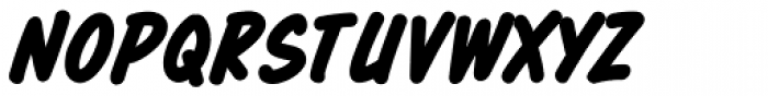 Totally Awesome Bold Italic Font UPPERCASE