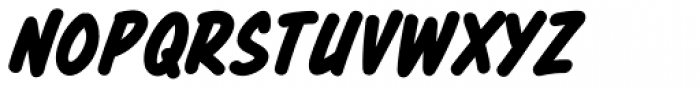 Totally Awesome Bold Italic Font LOWERCASE