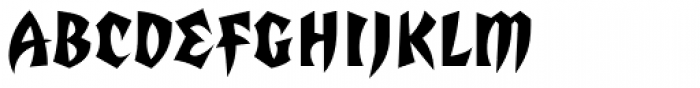 Totally Gothic Font UPPERCASE