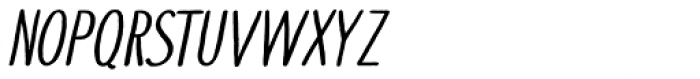Touch Tone Italic Font UPPERCASE