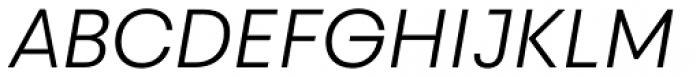 Touche Light Italic Font UPPERCASE