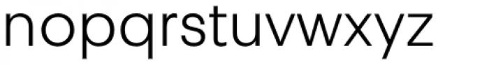 Touche Light Font LOWERCASE
