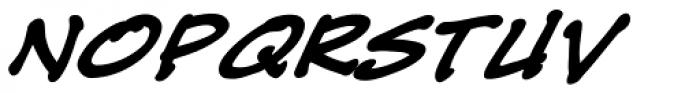 Tough Talk Bold Italic Font UPPERCASE