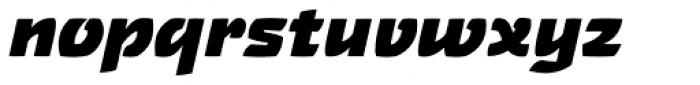 Touja Sans Black Font LOWERCASE