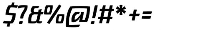 Touja Slab Medium LF Font OTHER CHARS
