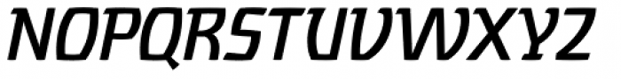 Touja Slab Medium LF Font UPPERCASE