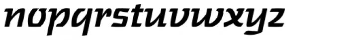 Touja Slab Medium LF Font LOWERCASE