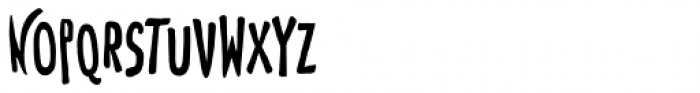 Toulouse-Lautrec Regular Font UPPERCASE