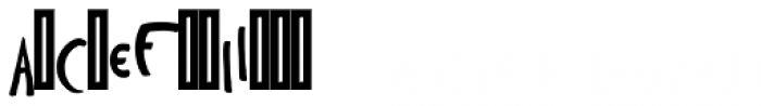 Toulouse-Lautrec Regular Font LOWERCASE