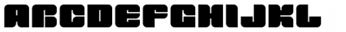 Tovstun A 4F Font UPPERCASE