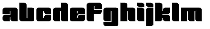 Tovstun A 4F Font LOWERCASE