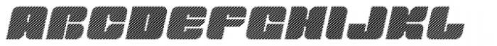 Tovstun D 4F Italic Font UPPERCASE