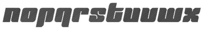 Tovstun D 4F Italic Font LOWERCASE